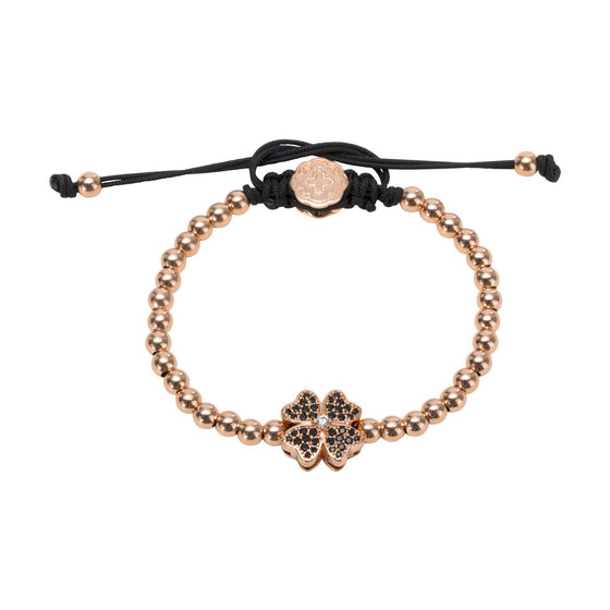 Four Leaf Clover Bracelet - Rose Gold - Goldoni Milano