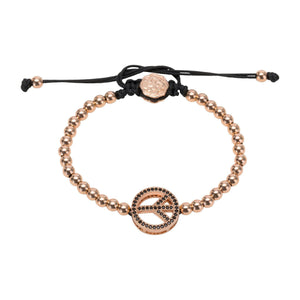 Peace Bracelet - Rose Gold-Goldoni Milano