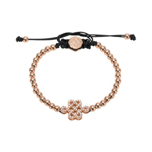 Celtic Knot Bracelet - Rose Gold-Goldoni Milano