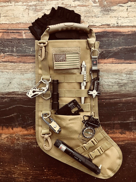 Military Vest Christmas Stocking
