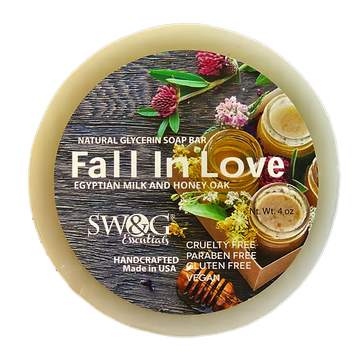 Fall In Love Soap Bar