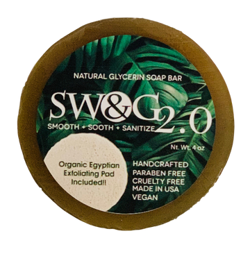 SW&G 2.0 Soap Bar w/ Exfoliating Pad