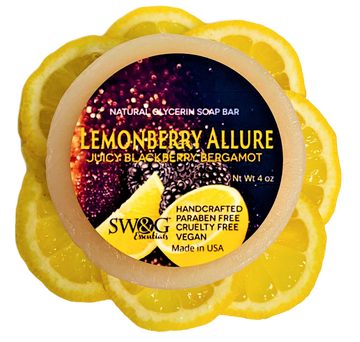Lemonberry Allure Soap Bar