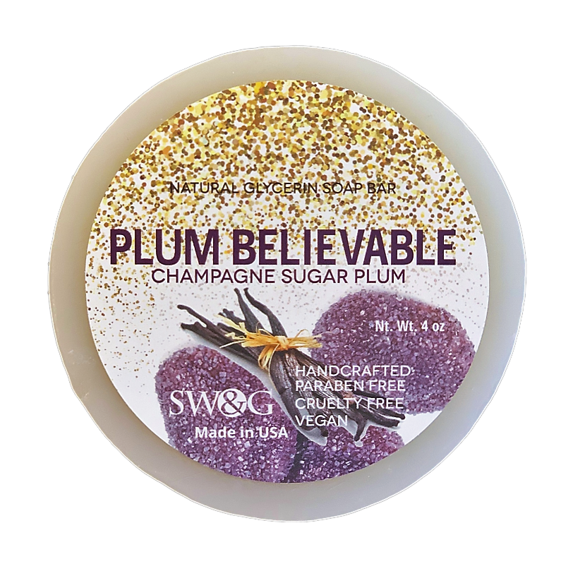Plum Believable Soap Bar