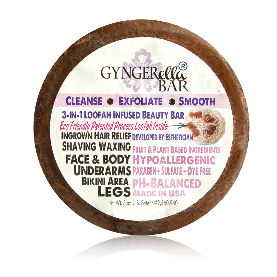 Gyngerella® Bar - Exfoliating Body Bar