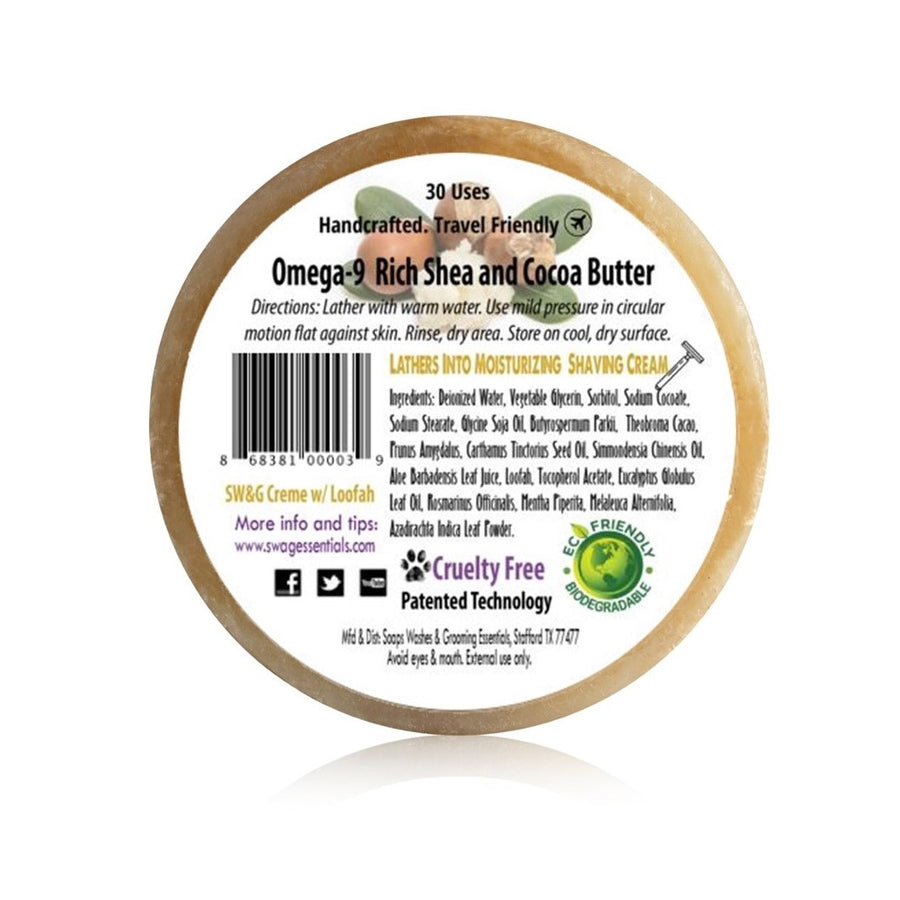 SW&G® Creme Bar - with Shea Butter