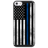 Thin Blue Line Cell Phone Cases