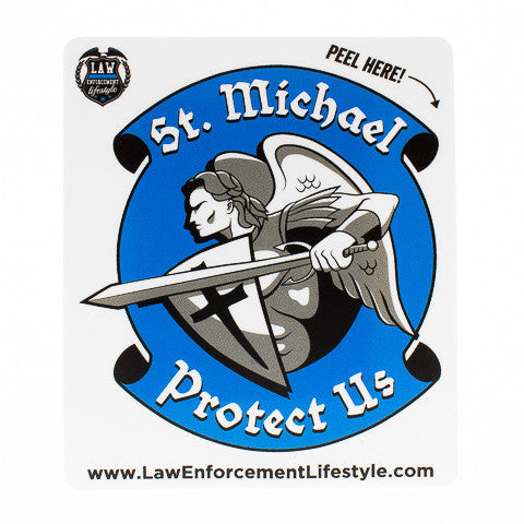 St Michael Sticker