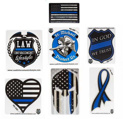 Thin Blue Line Support Combo Pack