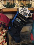 Fully Loaded Blue Line Tactical Stocking