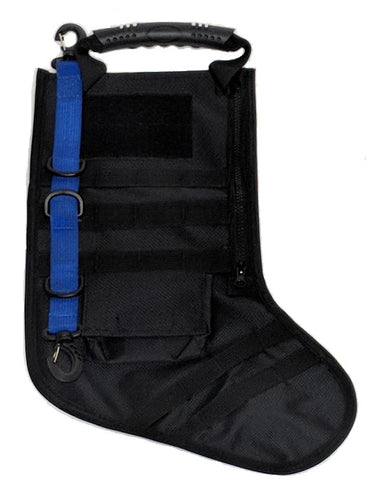 Unloaded Blue Line Tactical Stocking