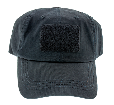 Tactical Snapback Hat - Black