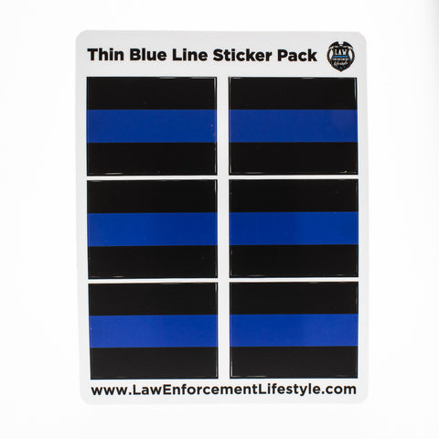 Thin Blue Line Sticker Pack