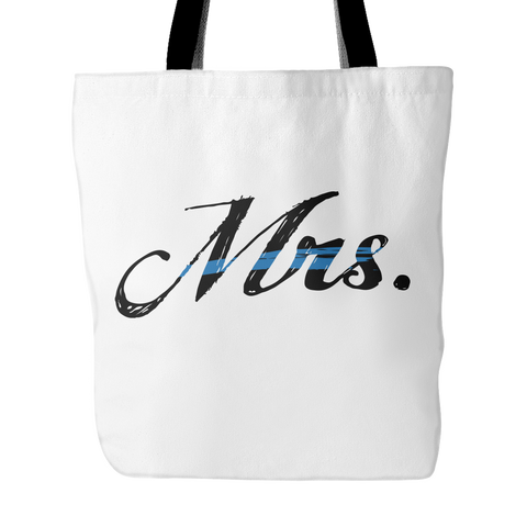 Mrs Blue Line Tote