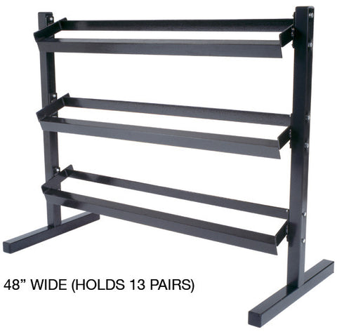 York 3 Tier Dumbbell Rack