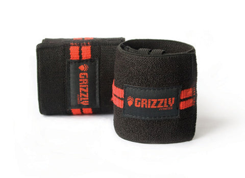 Grizzly Redline Wrist Wraps