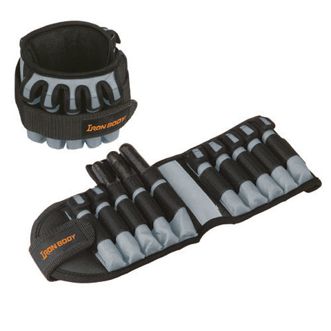 IBF 5lb Adjustable Ankle Weights