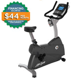Life Fitness C1 Upright Cycle