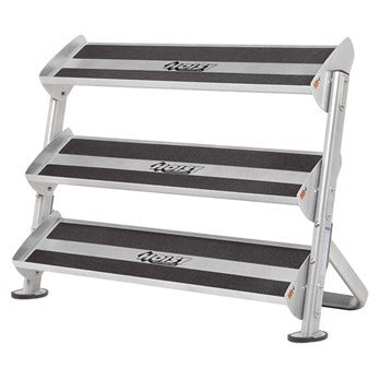 "Hoist HF-5461 48"" 2 Tier Dumbbell Rack With 3rd Tier Option"