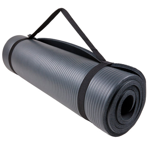 GoFit Fitness Mat 2x6 with Carry Handle