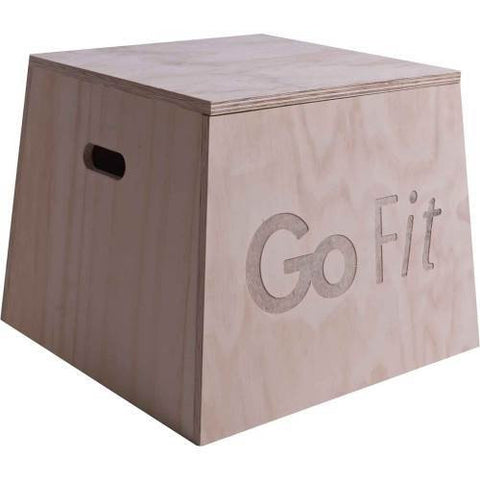 "GoFit 24"" Wooden Plyo Box"