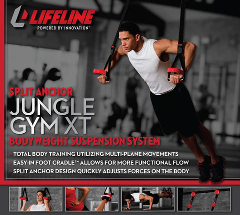 Lifeline Bodyweight Suspension Training system