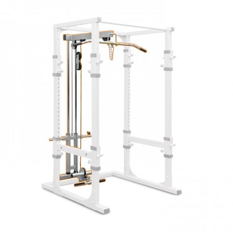 Vo3 Impulse Series Power Cage Lat / Low Row Option