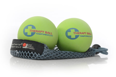 Yoga Tune Up® Therapy Balls - Pair with mesh tote