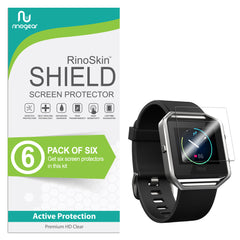 [6-Pack] Fitbit Blaze Screen Protector