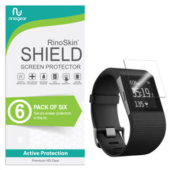 [6-Pack] Fitbit Surge Screen Protector