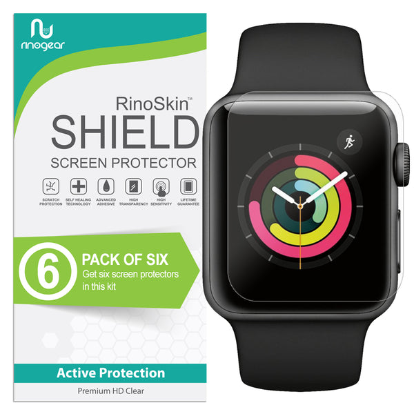 [6-Pack] Apple Watch 38mm (Series 3, 2, 1) Screen Protector