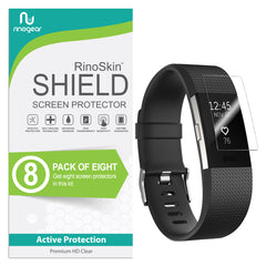 [8-Pack] Fitbit Charge 2 Screen Protector
