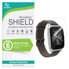 [6-Pack] Asus Zenwatch 2 (1.63 inch) Screen Protector