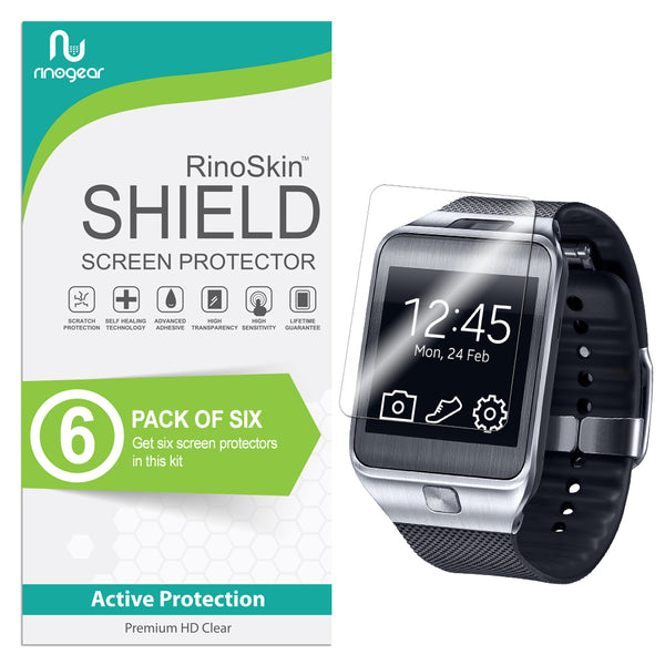 [6-Pack] Samsung Galaxy Gear 2 Screen Protector