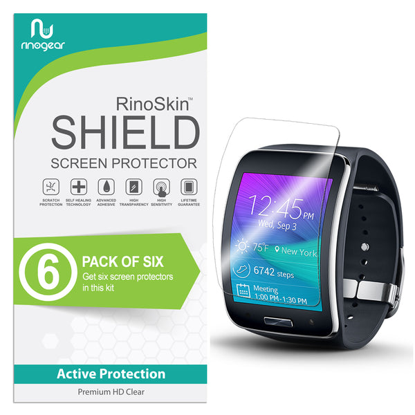 [6-Pack] Samsung Gear S Screen Protector