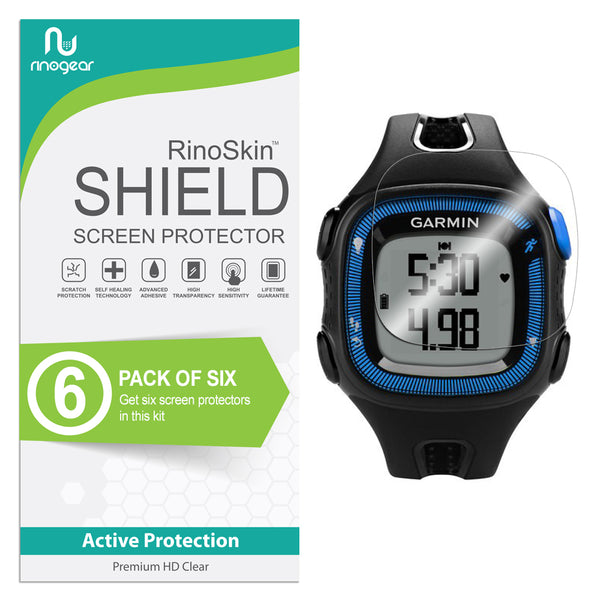 [6-Pack] Garmin Forerunner 15 Screen Protector