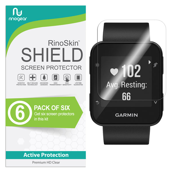 [6-Pack] Garmin Forerunner 35 Screen Protector