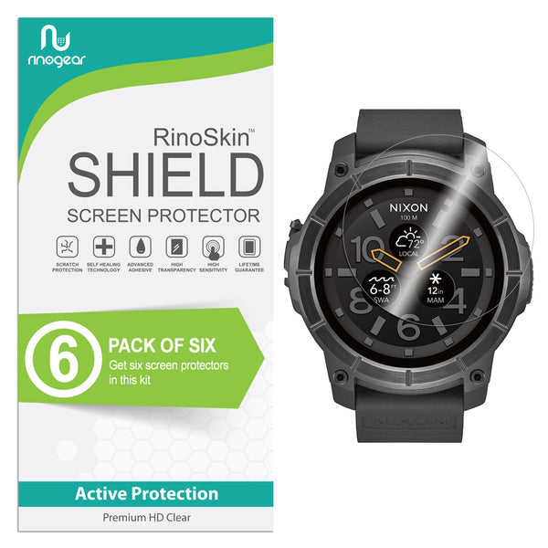 [6-Pack] Nixon the Mission Screen Protector