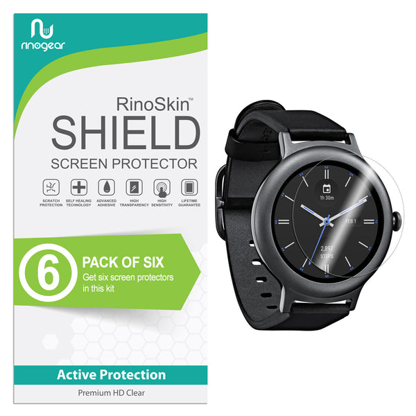 [6-Pack] LG Watch Style Screen Protector