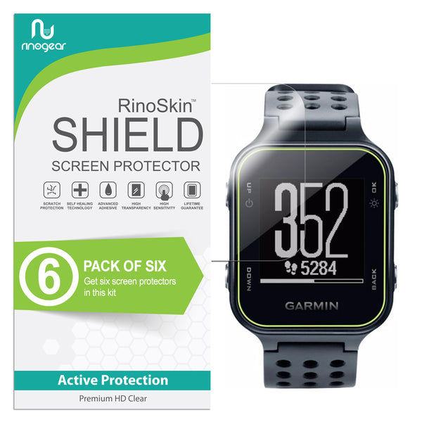 [6-PACK] Garmin Approach S20 Screen Protector