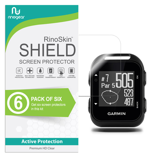 [6-Pack] Garmin Approach G10 Screen Protector