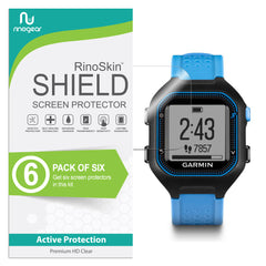 [6-PACK] Garmin Forerunner 25 Screen Protector