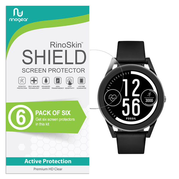 [6-Pack] Fossil Q Control Screen Protector