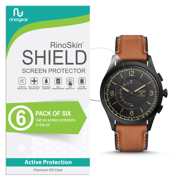 [6-PACK] Fossil Hybrid Smartwatch Q Activist Screen Protector
