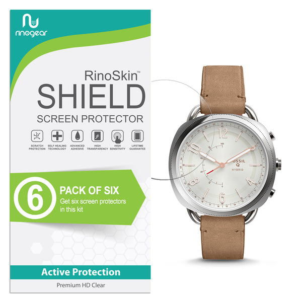 [6-Pack] Fossil Hybrid Smartwatch Q Accomplice Screen Protector