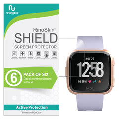 [6-Pack] Fitbit Versa Screen Protector