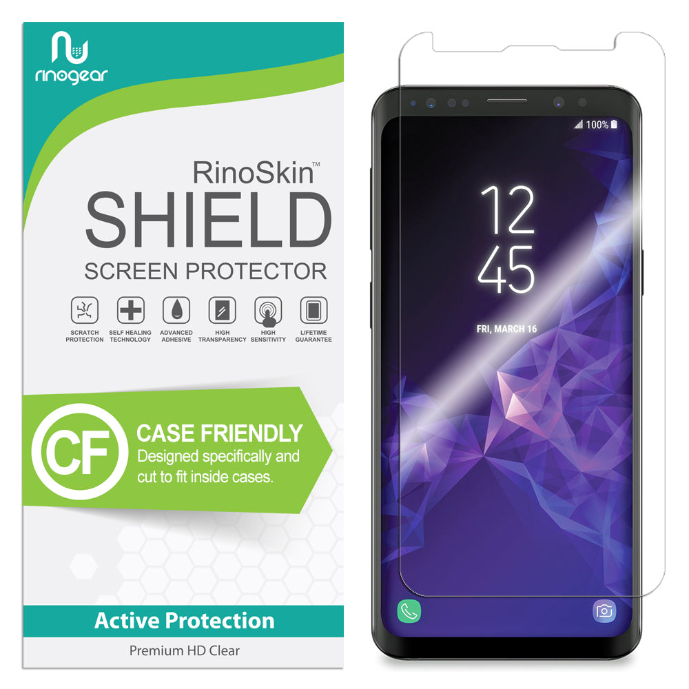 new york 9357b ac4da [Case-Friendly] Galaxy S9 Screen Protector