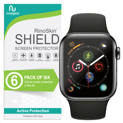 [6-Pack] Apple Watch Screen Protector 44mm (Series 5, 4) [Full Coverage]