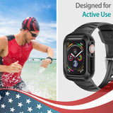 Active Armor Pro - Apple Watch Case with Band (Series 6 5 4) Rugged Style