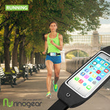 RinoGear iPhone 6S / 6S Plus / Universal Water Resistant Running Belt Fitness Waist Pack